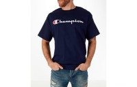 Champion Men's Graphic T-Shirt - Navy
