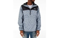The North Face Men's Novelty Fanorak Half-Zip Jacket Grey Snakes