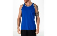 Champion Men's Classic Ringer Tank - Blue