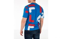 Fila Men's Bennet T-Shirt - Blue Print