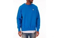 Champion Men's Reverse Weave Crewneck Sweatshirt - Deep Hotline Blue