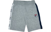 Fila Boys' Toddler Classic Logo Short Set - Navy/Grey
