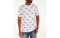 Champion Men's Allover Scribble Script Logo T-Shirt - White