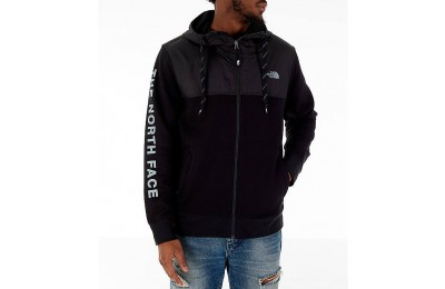 The North Face Men's Train N Logo Overlay Jacket Black