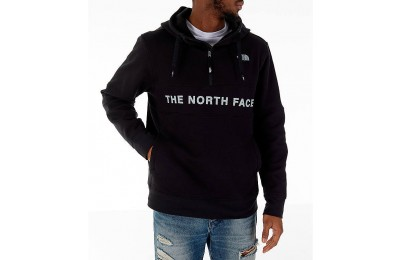 The North Face Men's Train N Logo Half-Zip Hoodie Black