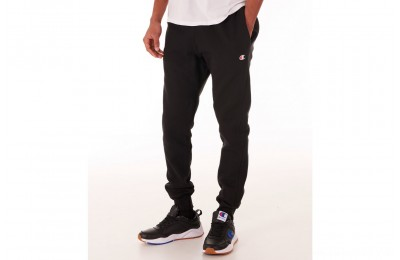 Champion Men's Reverse Weave Small Logo Jogger Pants - Black