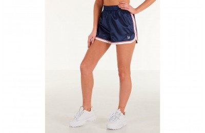 Fila Women's Mercedes Training Shorts - Navy