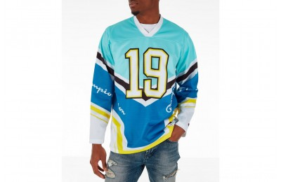 Champion Men's Hockey Jersey - Blue/White