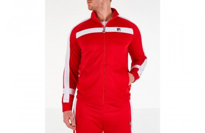 Fila Men's Renzo Track Jacket - Red
