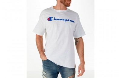 Champion Men's Graphic T-Shirt - White