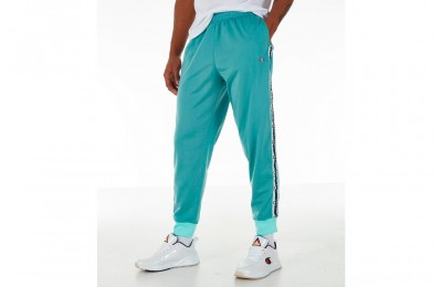 Champion Men's Side Tape Track Jogger Pants - Eucalyptus Green