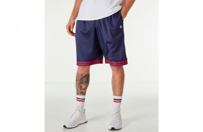 Champion Men's Life Basketball Shorts - Navy/Red