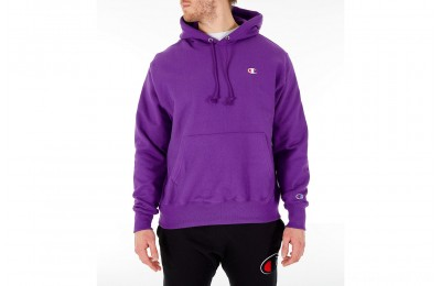 Champion Men's Reverse Weave Pullover Hoodie - Purple