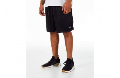 Champion Men's Classic Mesh Shorts - Black
