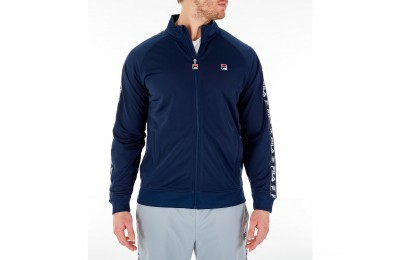 Fila Men's Tag Tricot Full-Zip Jacket - Navy