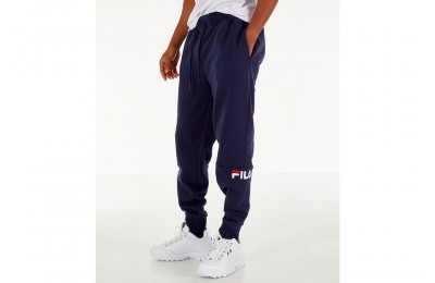 Fila Men's Topher Fleece Jogger Pants - Navy