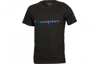 Champion Kids' Heritage T-Shirt - Black