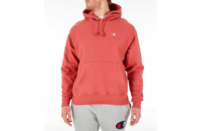 Champion Men's Reverse Weave Pullover Hoodie - Picante Pink
