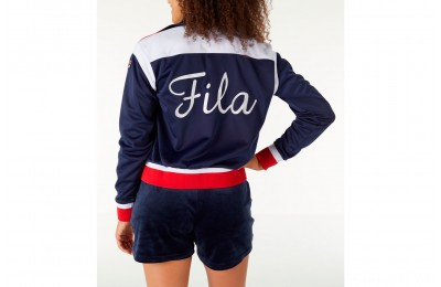 Fila Women's Lizzie Jacket - Navy/White