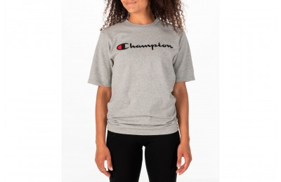 Champion Women's Heritage HBR T-Shirt - Oxford Grey