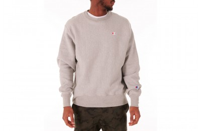 Champion Men's Reverse Weave Crewneck Sweatshirt - Grey