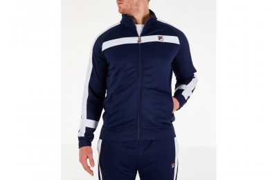 Fila Men's Renzo Track Jacket - Navy