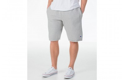 Champion Men's Reverse Weave Fleece Shorts - Oxford Grey