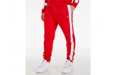 Fila Men's Renzo Track Pants - Red