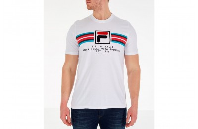 Fila Men's Heritage Mercedes T-Shirt - White