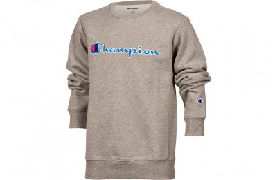 Champion Kids' Heritage Crew Sweatshirt - Grey
