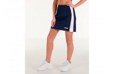 Fila Women's Miriam Tearaway Mini Skirt - Navy