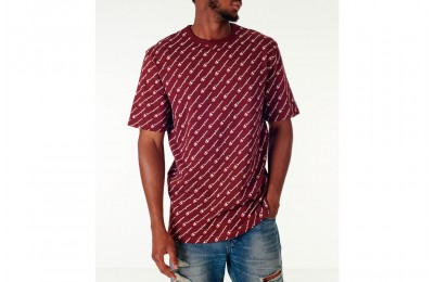 Champion Men's Heritage All-Over T-Shirt - Maroon