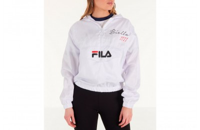 Fila Women's Jana Half-Zip Jacket - White