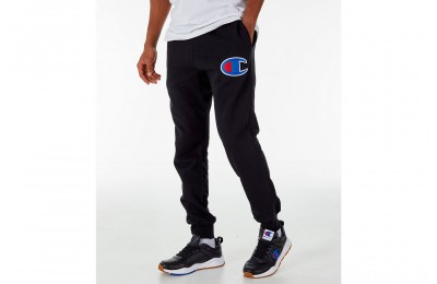 Champion Men's Reverse Weave Jogger Pants - Black