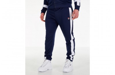 Fila Men's Renzo Track Pants - Navy