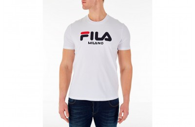 Fila Men's Milano T-Shirt - White