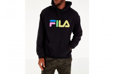 Fila Men's Technicolor Hoodie - Black