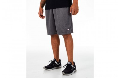 Champion Men's Classic Mesh Shorts - Dark Grey