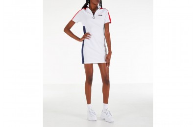 Fila Women's Lucrecia Dress - White/Red