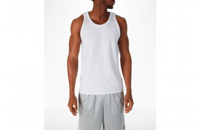 Champion Men's Classic Ringer Tank - White