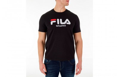 Fila Men's Milano T-Shirt - Black