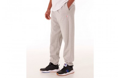 Champion Men's Reverse Weave Banded Jogger Pants - Heather Grey