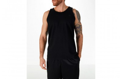 Champion Men's Classic Ringer Tank - Black