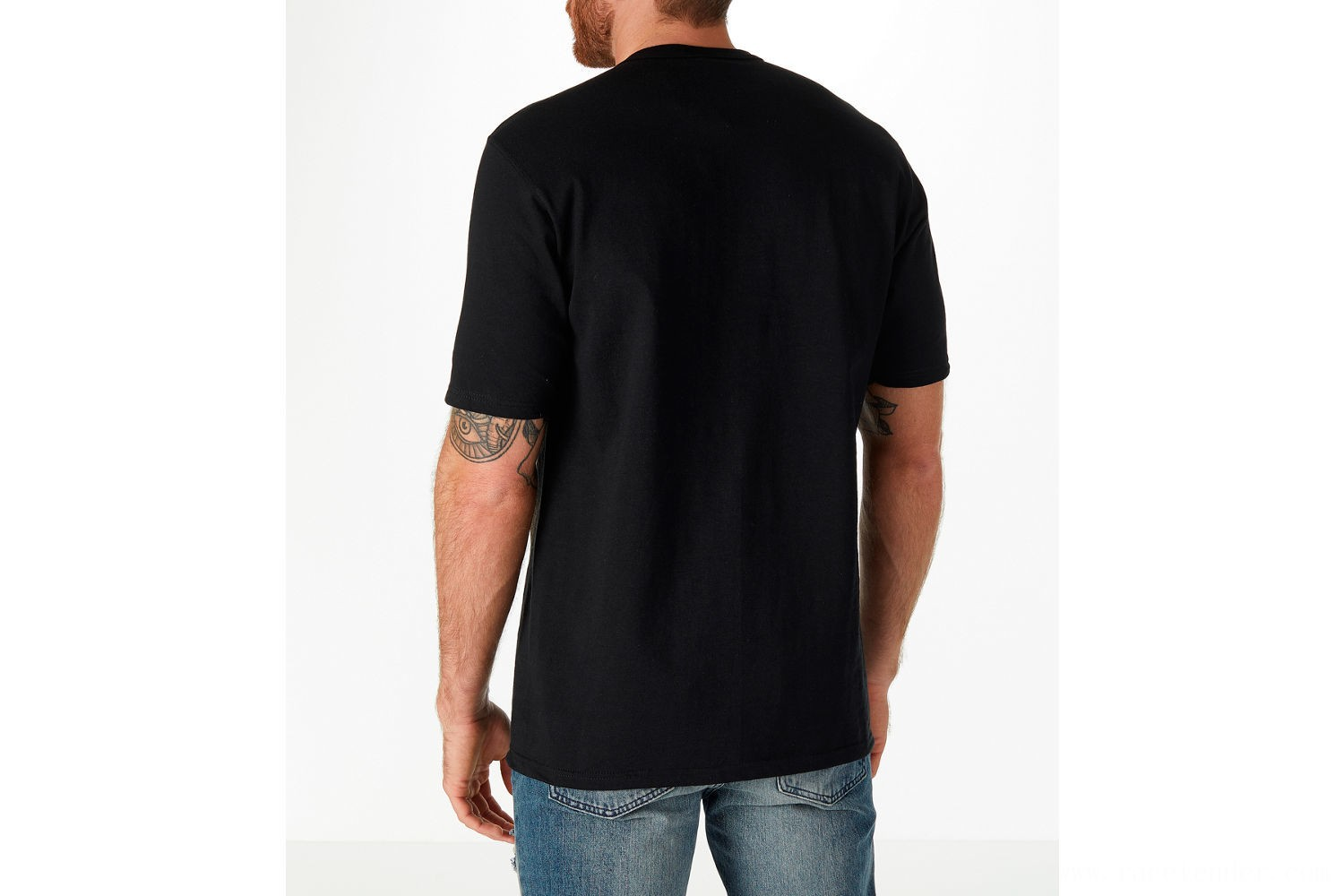 Champion Men's C Patch T-Shirt - Black