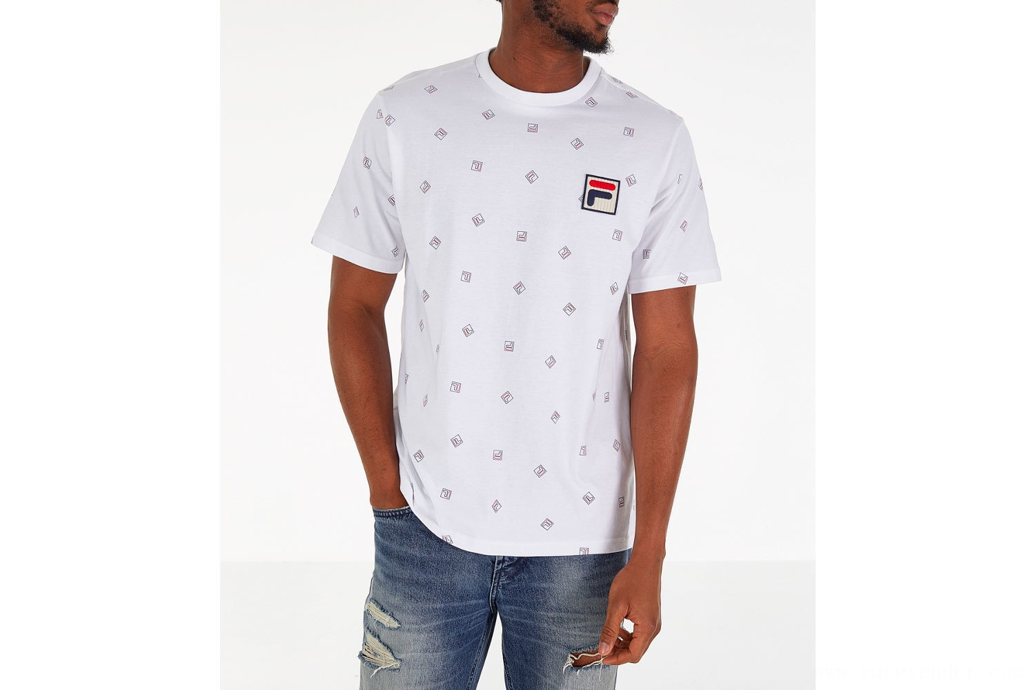 Fila Men's Reign T-Shirt - White