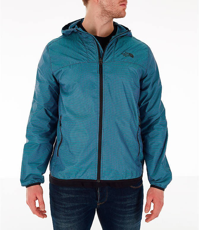 The North Face Men's Novelty Cyclone Hooded Jacket Iridescent