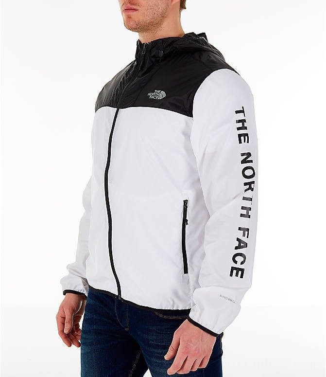 The North Face Men's Novelty Cyclone Hooded Jacket White/Black