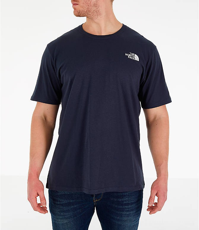 The North Face Men's Box T-Shirt Navy