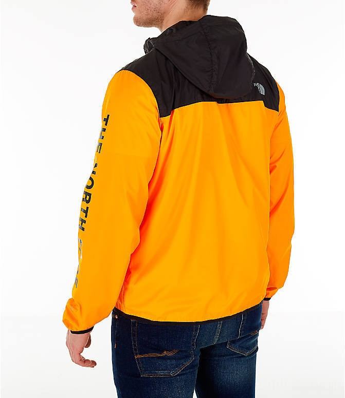The North Face Men's Novelty Cyclone Hooded Jacket Yellow/Black