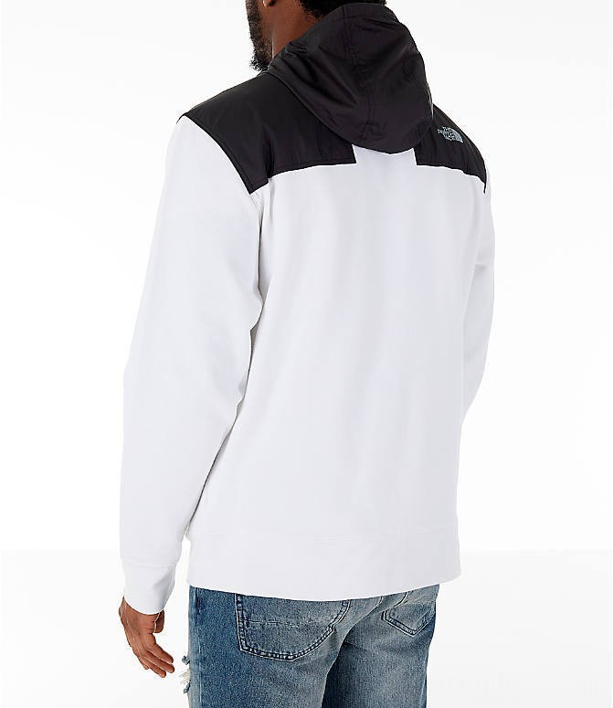 The North Face Men's Train N Logo Overlay Jacket White
